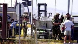 Als Bundeswehrsoldaten in amerikanische Gewehre blickten