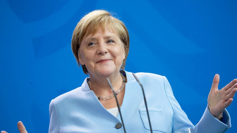 Beliebt wie lange nicht: Die Deutschen setzen in der Krise wieder auf Angela Merkel.