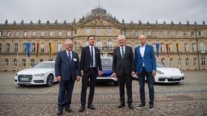 Kretschmanns Auto-Gipfel im Hochglanzformat