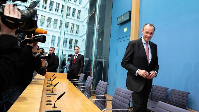 Merz will CDU-Vorsitzender werden