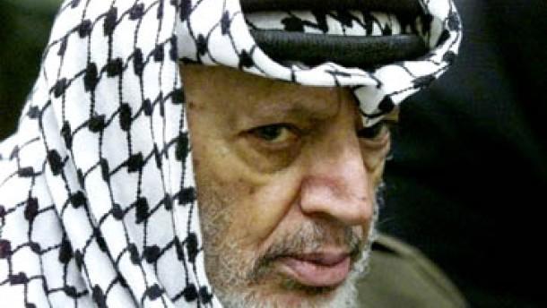 Arafat wirft Israel Faschismus vor