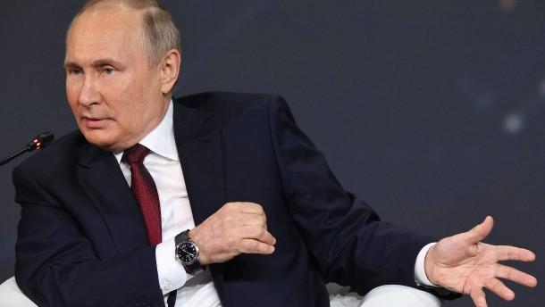 Putins Ohrfeige für die Bundesregierung