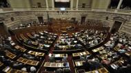 Tsipras droht Abgeordneten mit Rücktritt