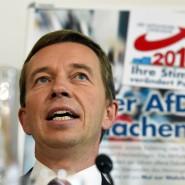 Der AfD-Bundesvorsitzende Bernd Lucke hätte gerne mehr Zeit für seine Familie