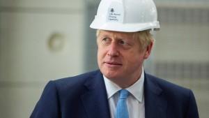 Boris Johnson gibt den Hardliner