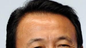 Taro Aso soll neuer Ministerpräsident werden