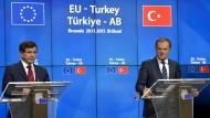 EU und Türkei schließen Pakt