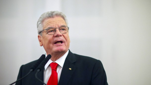 Politiker drängen Gauck zur Eile