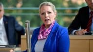 Lob für Holocaustleugner: Die AfD-Landesvorsitzende in Schleswig-Holstein, Doris Sayn-Wittgenstein.