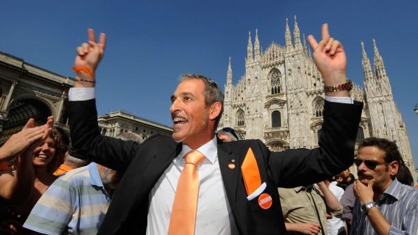 Linke siegt in Mailand und Neapel