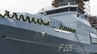 """Deutsche Fregatten, hier die für die Bundeswehr aufgelegte """"Rheinland-Pfalz"""", sind ein Exportschlager."""