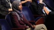 Die muslimische Abgeordnete Ilhan Omar aus Minnesota