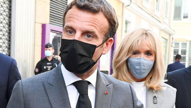 Macron nach Ohrfeige: Nichts wird mich aufhalten