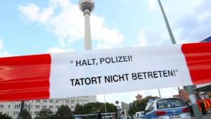 Haftstrafe für tödliche Messerattacke am Alexanderplatz