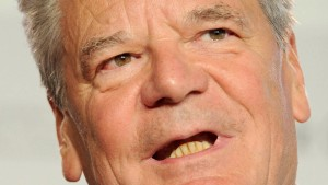 Gauck: Jüdischer Glaube ist Teil deutscher Kultur