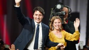 Trudeau sichert sich zweite Amtszeit