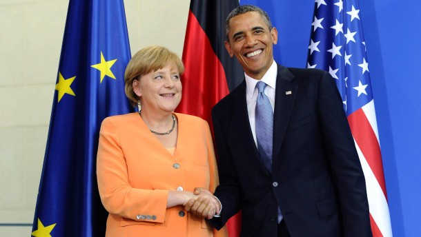 Merkel besucht Obama