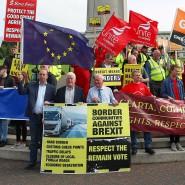Ungeliebter Brexit: In Nordirland ist der Austritt aus der EU kein Wahlschlager.