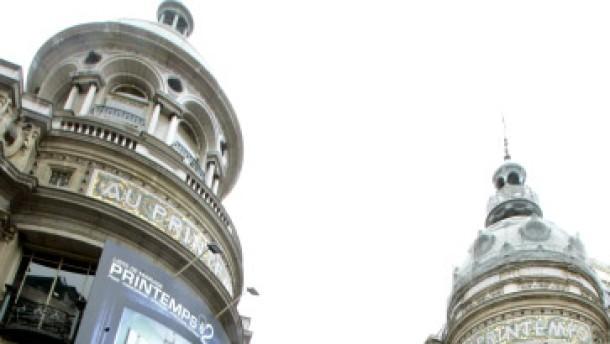 Sprengkörper in Pariser Luxuskaufhaus entschärft
