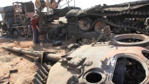 Panzerwracks als Ausflugsziel