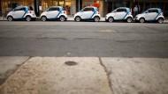 Smart zum Mitnehmen: Don Flotte von Car2go besteht in Berlin aus 1000 Fahrzeugen