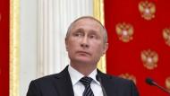 Putin wirft Ukraine Terror vor