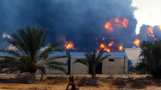 Libyen in Flammen