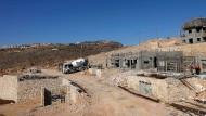 Die israelische Siedlung Migron in der Westbank