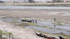 Aufständische setzen Staudamm als Waffe ein