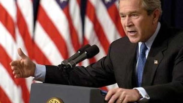 Bush: Militärschlag gegen Iran möglich