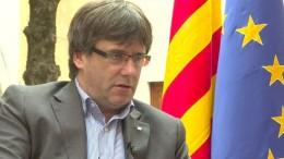 Puigdemont unter Auflagen freigelassen