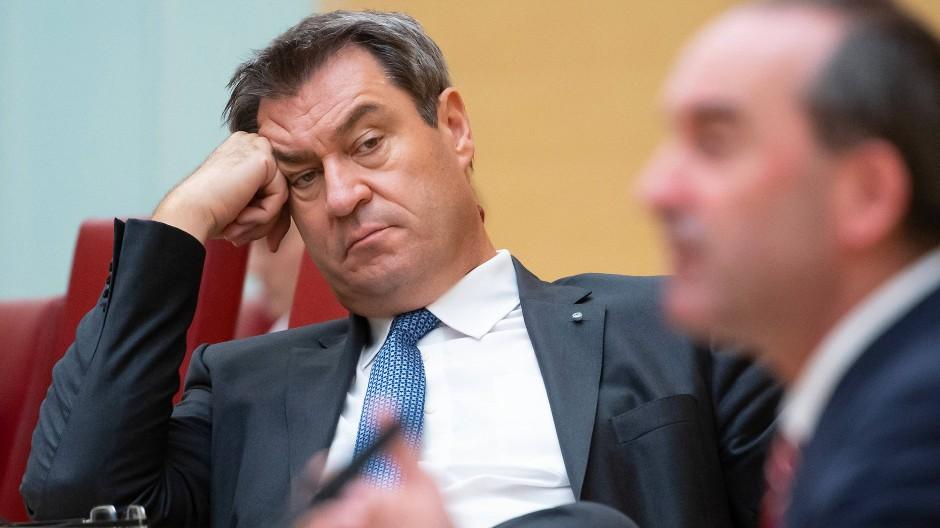 Markus Söder (links) und Hubert Aiwanger im September im bayrischen Landtag