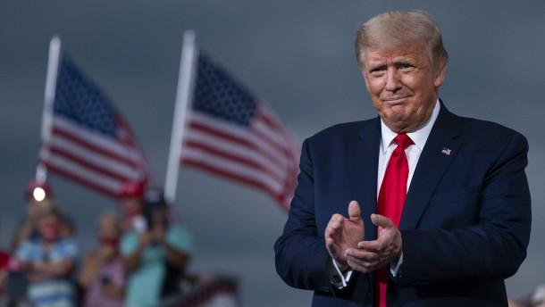 Donald Trump ist für denFriedensnobelpreis vorgeschlagen