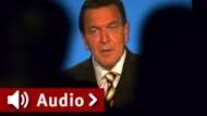 Schröder über die Äußerungen seiner Gattin