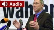 """Rücktritt war unangemessen"": PDS-Fraktionschef Roland Claus im F.A.Z. Business-Radio"