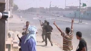Britische Kampfjets schießen auf Gaddafi-Bunker