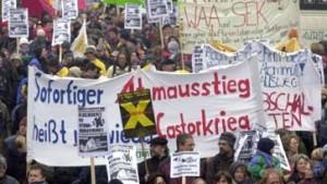 Demonstrationen gegen Castor