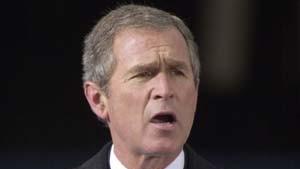 George W. Bush will mit Mut und Mitgefühl führen