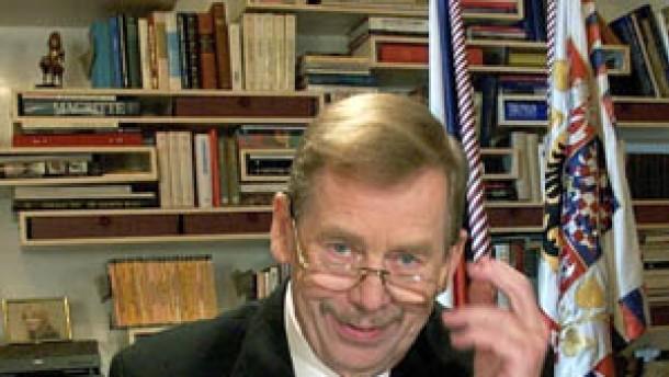 Kein Favorit für Havel-Nachfolge
