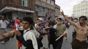 Gewalt in Sanaa hält an