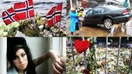 Attentate in Norwegen, Trauer um Winehouse