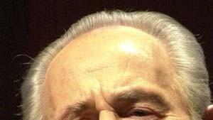 Schimon Peres oder die Rückkehr des Dinosauriers