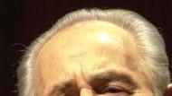Mischt wieder mit: Schimon Peres