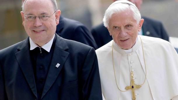 Papst Benedikt XVI. besucht Deutschland EKD