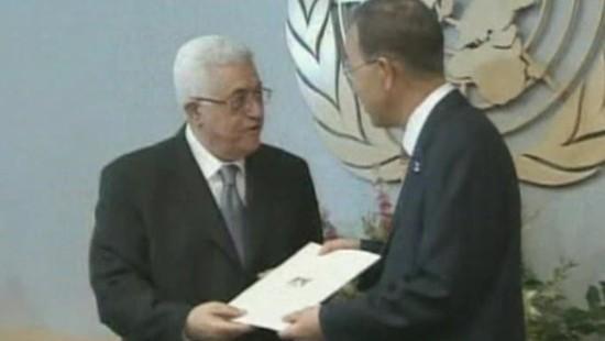 Palästinenser beantragen UN-Mitgliedschaft