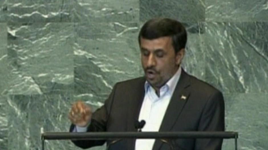 Ahmadineschads Tiraden