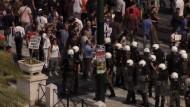 Generalstreik der Griechen gegen Sparkurs der Regierung legt öffentliches Leben lahm