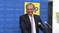 Spitzenkandidat Christian Lindner: Großes Ergebnis für die FDP