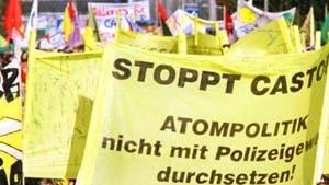 Trittin warnt vor Demonstrationen gegen Castor