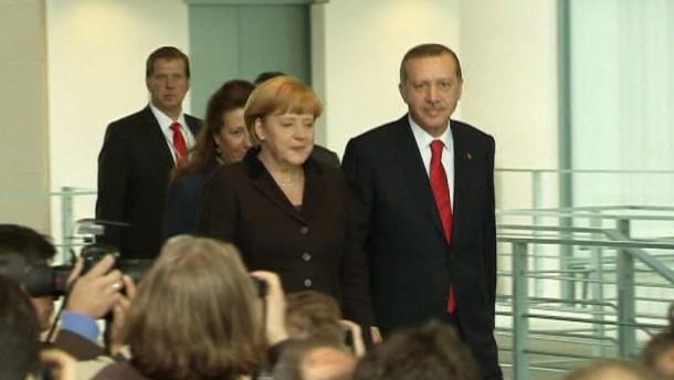 Erdogan im Kanzleramt